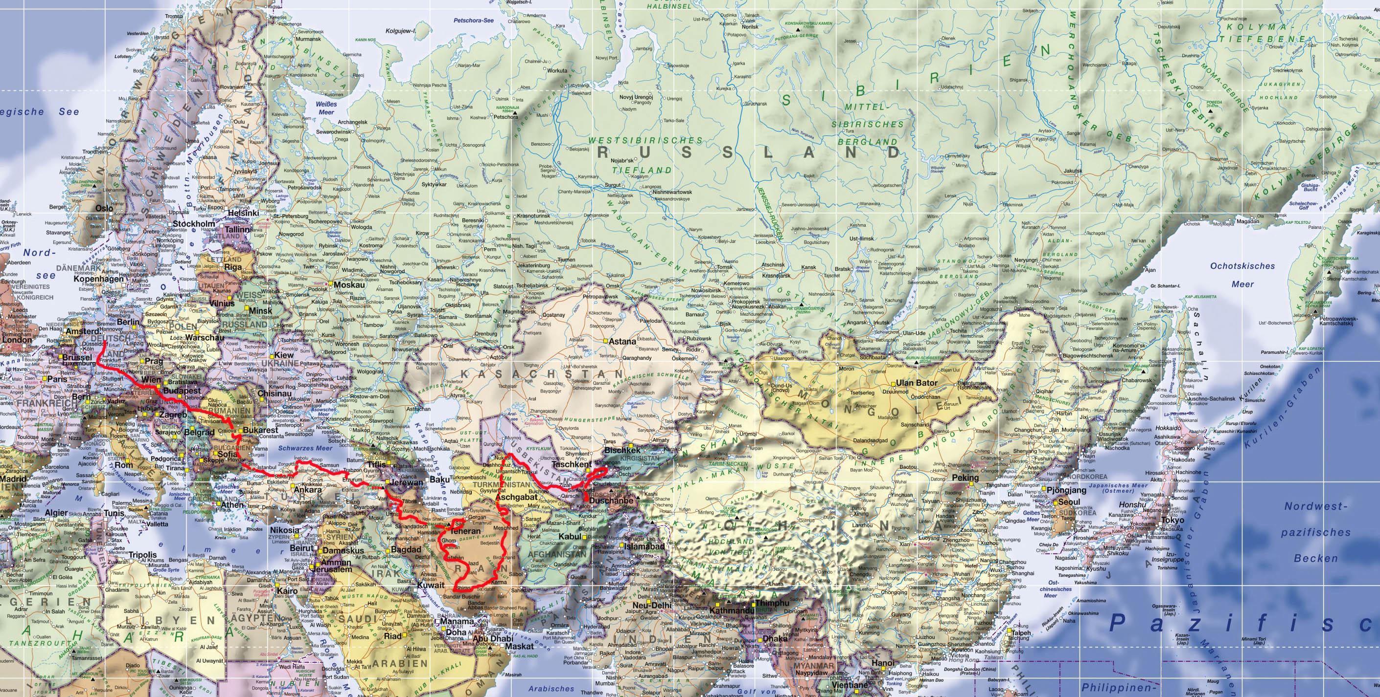 Seidenstraße bis Magadan Aktuel web
